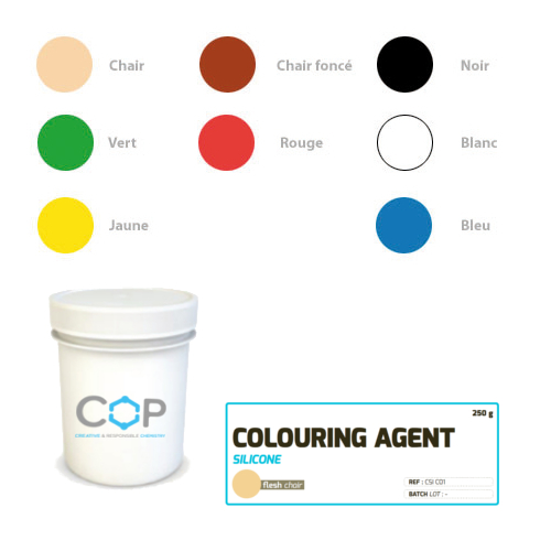 colorants silicone rtv